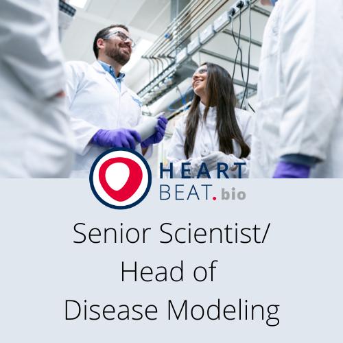 Senior Scientist/Head of Disease Modeling